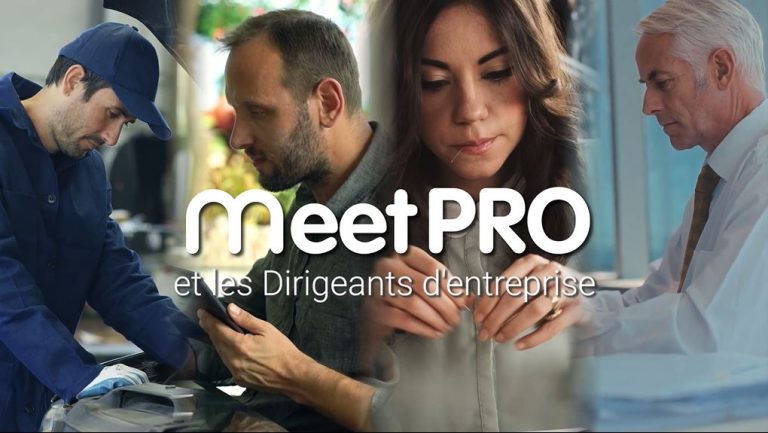 Video MeetPRO et les Dirigeants