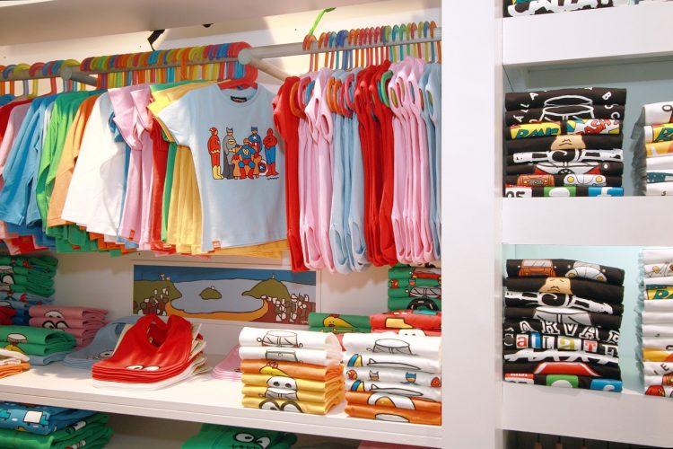 boutique de vêtements pour enfant